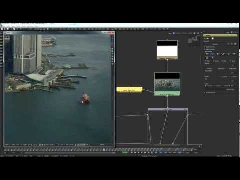 3D Compositing in Fusion 6.4: Aircraft in distress over Hudson. Part 1. - YouTube
