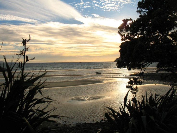 Sunset at Tryphena, Great Barrier Island