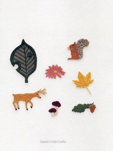 Ui's Embroidery Emblem Wappen Ui Nakabayashi by JapanLovelyCrafts