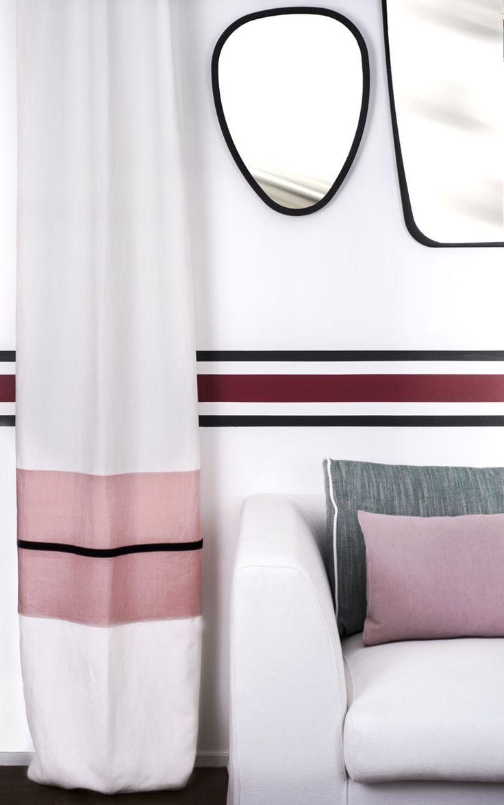 les 10 meilleures images du tableau rideau sur pinterest id es rideaux maison sarah lavoine. Black Bedroom Furniture Sets. Home Design Ideas