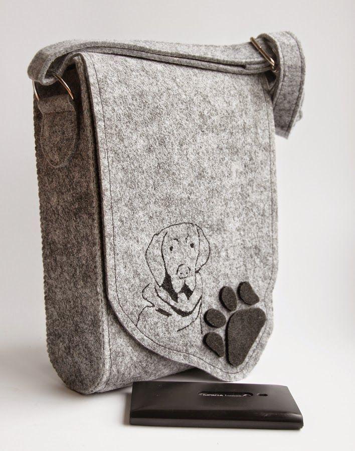 """Zagadka """"jaką rasę psów lubi właścicielka torby?"""" nie jest raczej trudna, prawda?"""