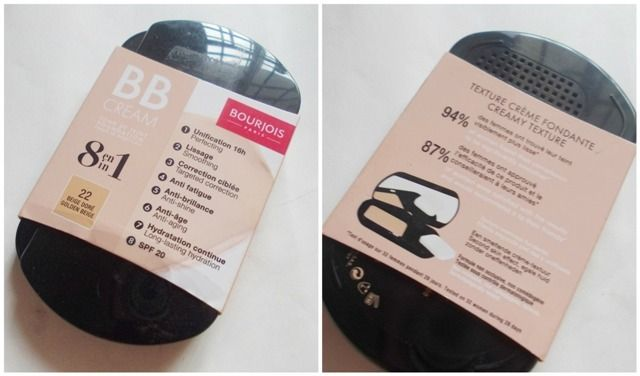 #Bourjois #8in1 #BB #Cream #review #price and details on the blog