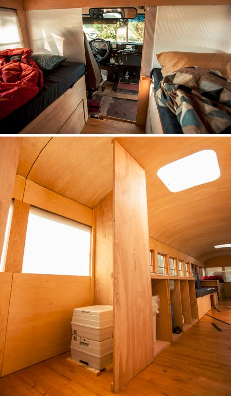 194 best rv school bus conversion images on pinterest for Minimalist living in an rv