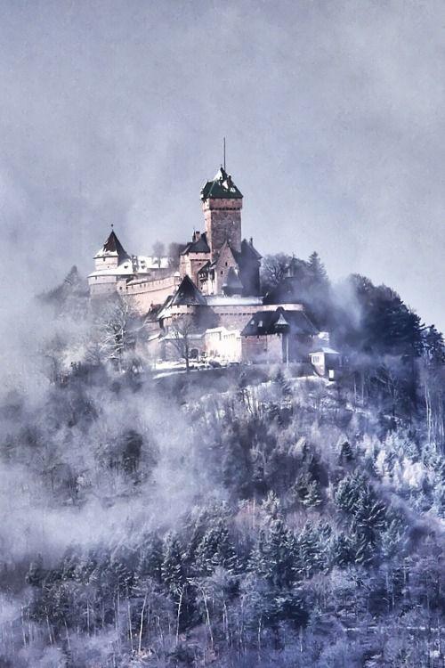 Château du Haut-Koenigsbourg, Alsace, France by Rucher