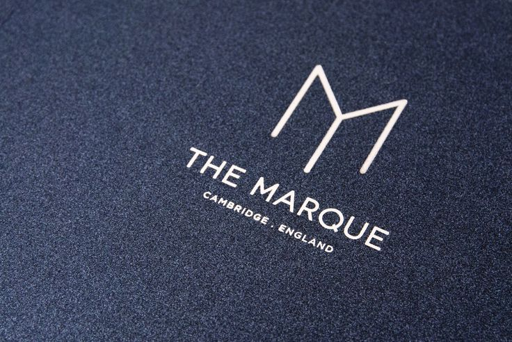 Design by Tom Love The Marque - Luxury Apartments Branding Design Identity