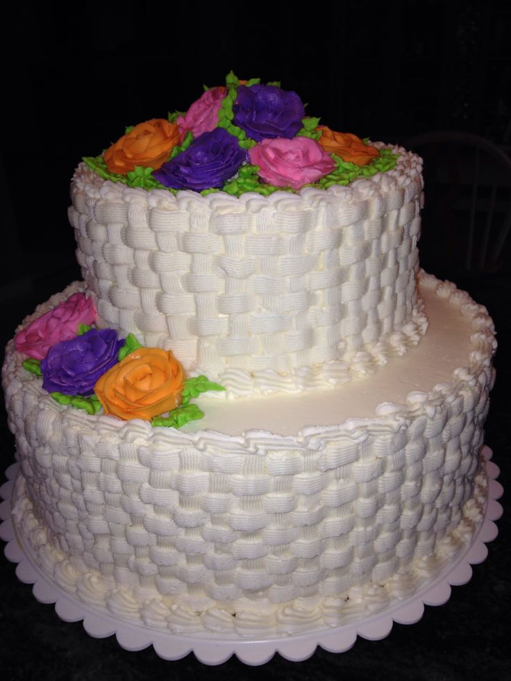 Basket Weaving A Cake : Best images about cake decorating basketweave on