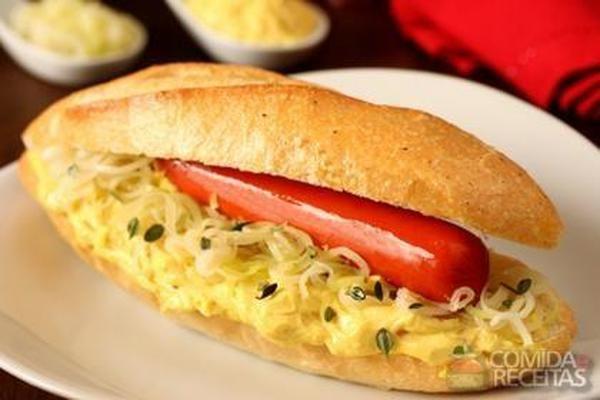 Receita de Hot dog fondue em receitas de paes e lanches, veja essa e outras receitas aqui!