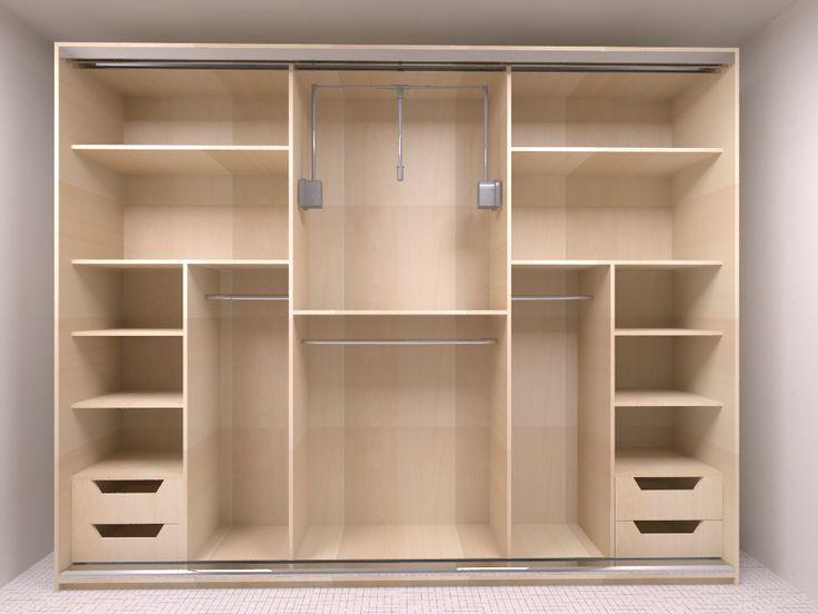 Opção de closet pequeno