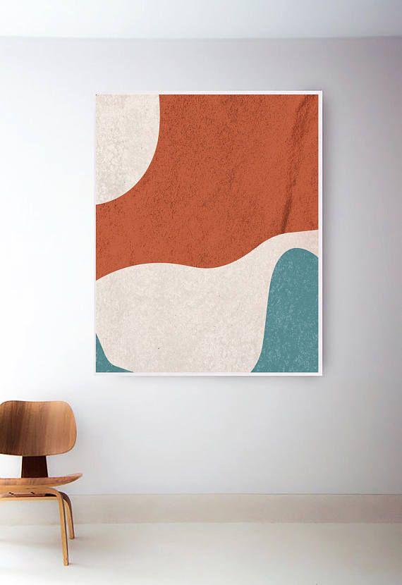 Prints Wall Art Geometric Art Modern Wall Art Print Abstract Wall Art Printable Wall Art Mid Century Modern Art Minimalist Art