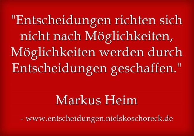 Entscheide dich jetzt für bessere Entscheidungen und mehr Möglichkeiten in deinem Leben - NUR NOCH HEUTE erhältlich: http://www.entscheidungen.nielskoschoreck.de