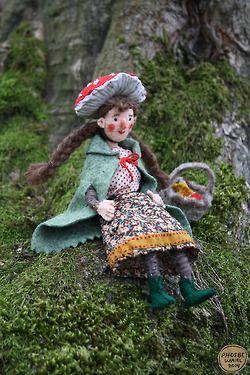 Mushroom Witch, Phoebe Wahl 2014
