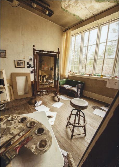 space and light. Andrew Wyeth studio.