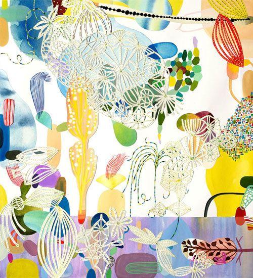 Sarajo Frieden #art #mixed media