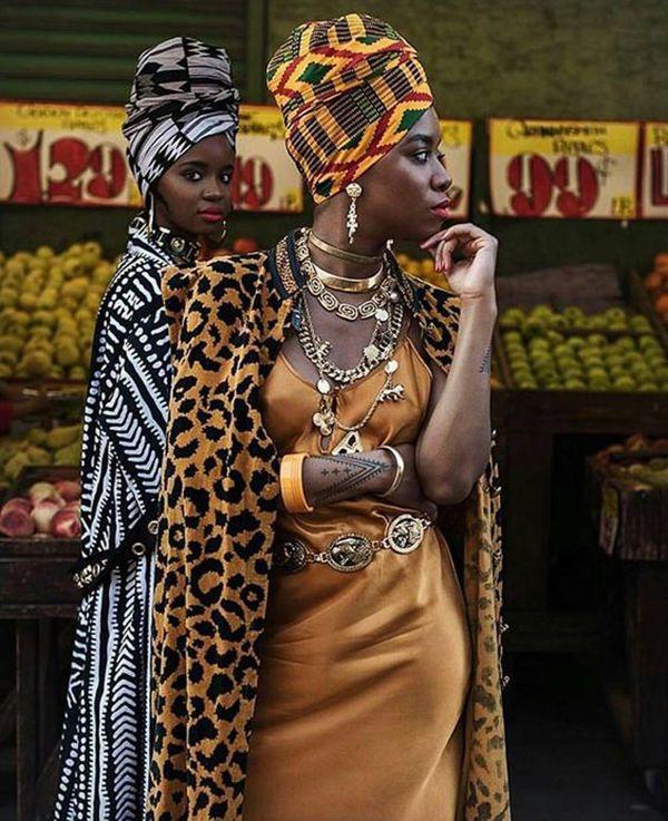 Фотосессия в африканском стиле функциональная девушка модель работы процессора