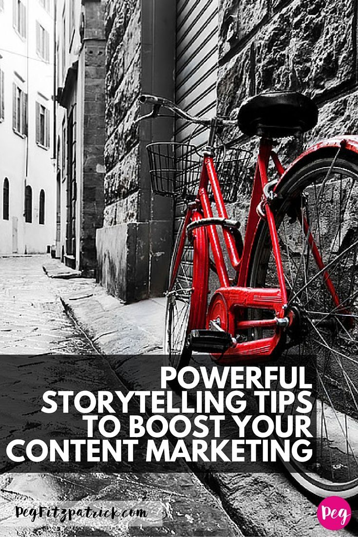 Powerful Storytelling Tips to Boost your Content Marketing. Telling stories is a powerful way to communicate. In today's information-dense world, stories are the difference between being remembered or forgotten.