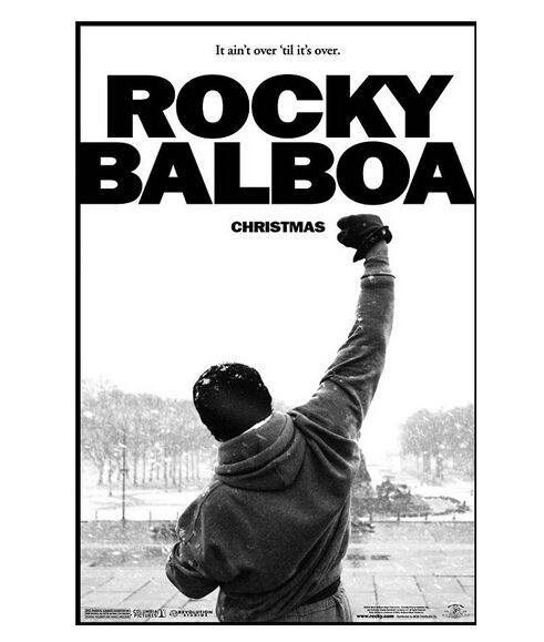 Cool Art Rocky Balboa Modern Stylish Custom Fashion Tatoo On Wall Poster Print Size(40x60)cm Canvas Print Free Shipping U1-166 #Affiliate