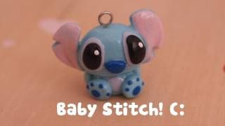Baby Stitch Tutorial ♛ ; Polymer Clay Marathon {3} !, via YouTube.