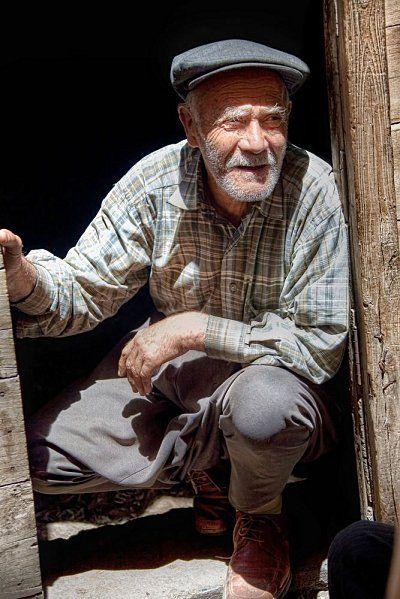 Old man in Mardin, Turkey