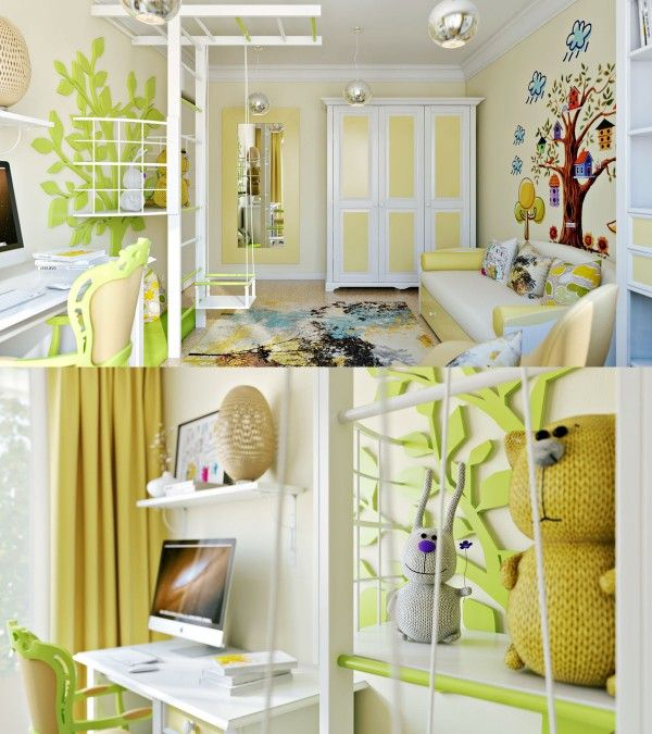 Beautiful Bright And Colorful Kids Room Designs With Whimsical Artistic  Features With Kids Room Designer.