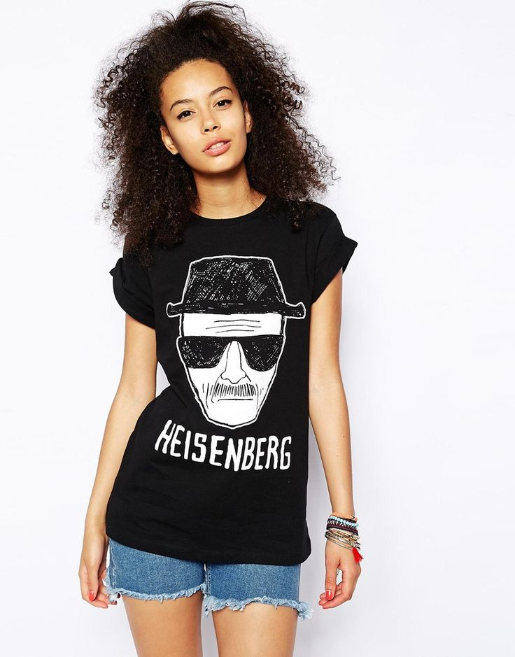 ASOS T-Shirt with Breaking Bad Heisenberg Print http://asos.to/1r0FFea I want it.