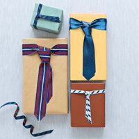Craft Project: Necktie-Inspired Bow for Father's Day. #fathersday