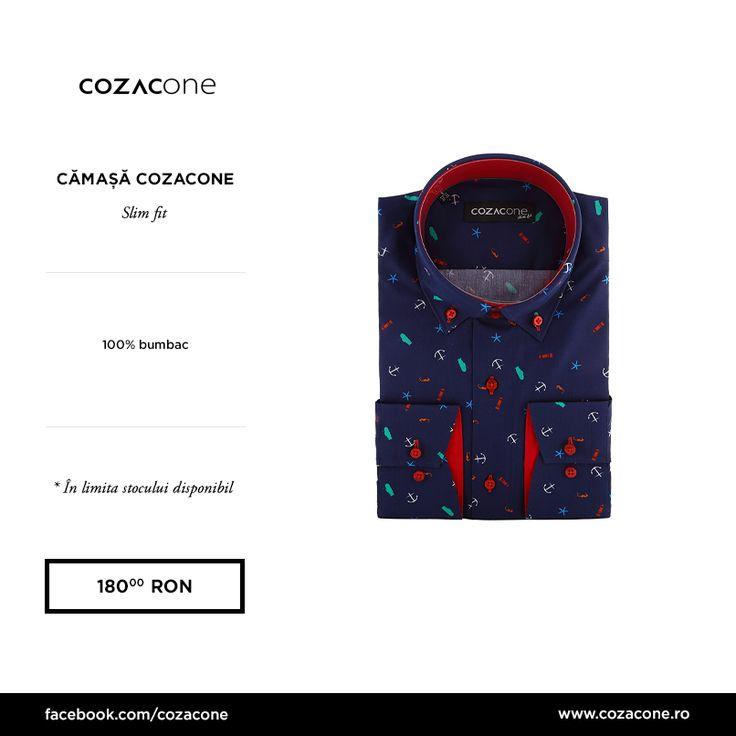 Noua noastră colecție de cămăși te așteaptă în magazine! În curând, și pe www. cozacone.ro