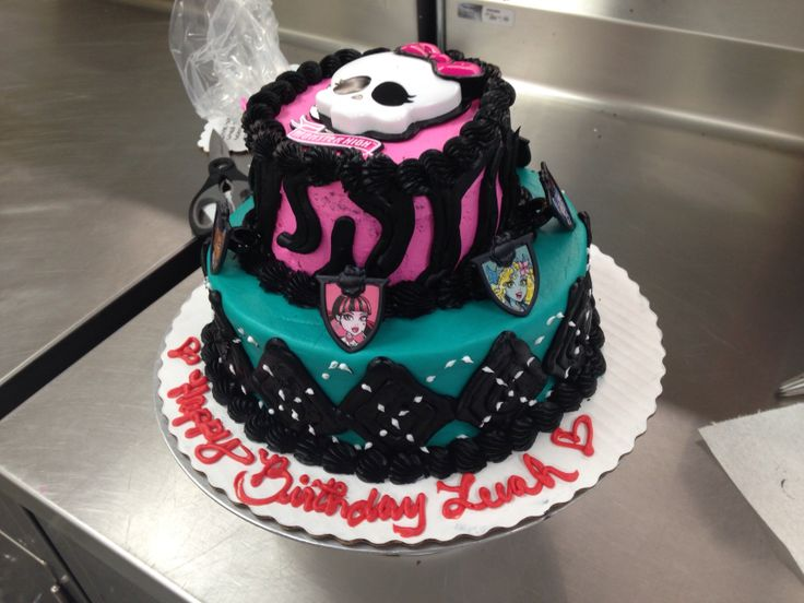 Cakes Made At Walmart Custom Order High Two Tier Cake All Buttercream