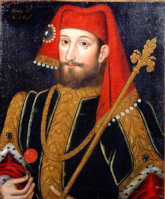 Henry 'Bolingbroke' was the son of John of Gaunt, Duke of Lancaster. Became King Henry IV of England - by deposition of his cousin King Richard II