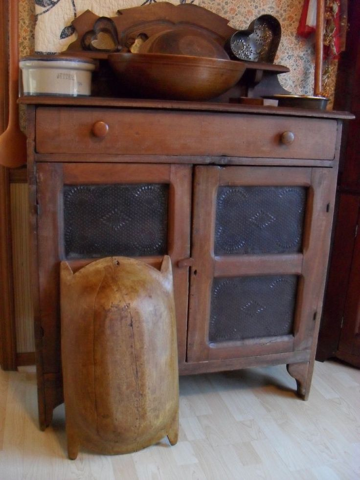 Antique Wooden Pie Safe Woodworking Projects Amp Plans