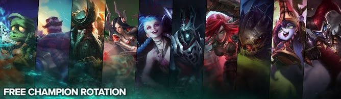 awesome Free Champion Rotation, Week of June 6th