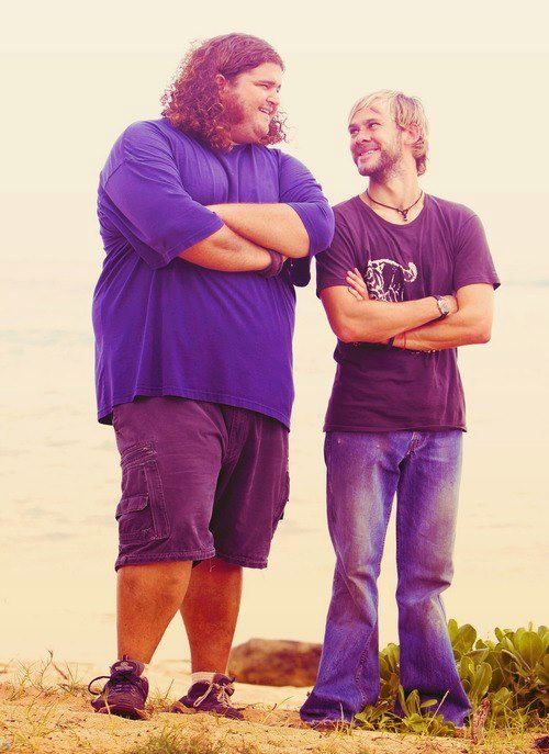 Awww...I miss these guys!  Lost was such an incredible show.