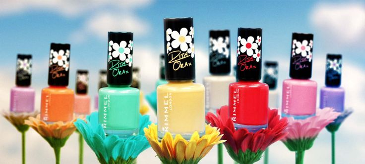 Pam Scalfi: NEW Rimmel London Rita Ora Nail Polishes + Easter ...