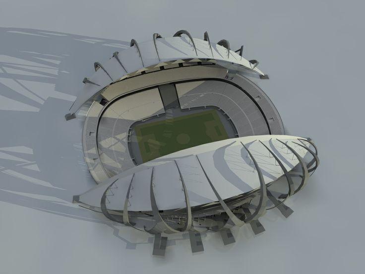 #conceptual #hausport #estadio #card #deporte #sport #tallerV #architecture
