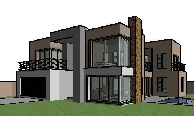 House Design Double Storey House Plans Modern House Design