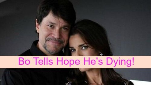 Days of Our Lives (DOOL) Spoilers: Bo Dying, Makes Love with Hope Before Sharing Awful News – Brady Family Welcome Home Party