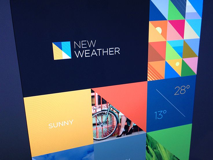 New weather brand exploration by Marc Clancy