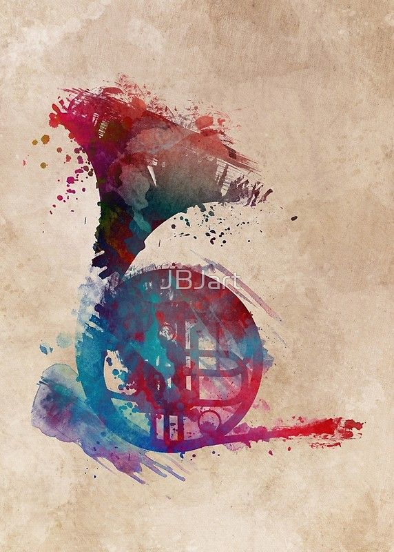 French horn #frenchhorn #music #art