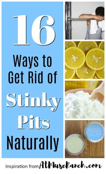 How to Get Rid of Stinky Armpit Odor Naturally | Beauty
