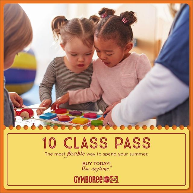 Don't let a hectic summer schedule get you down! The best early childhood program is now the most flexible. Attend any age appropriate (45min) class or Open Gym on your schedule!  Contact us to buy yours today. ⠀ #gymboreeplayandmusic #gymboreesd #classesforkids #poway #sandiego #pointloma #clairemontmesa #delsur #carmelvalley #4sranch #infant #toddler #preschool #newmom #momlife #dadlife #sandiegoconnection #sdlocals #4sranchlocals - posted by Gymboree Classes San Diego…
