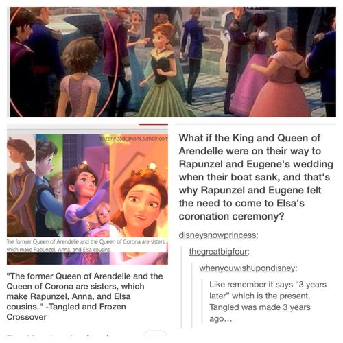 Frozen & Tangled crossover. I know this isn't really a nerd thing but I didn't know where else to put it.