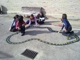 como pintar juegos en el patio de la escuela - Buscar con Google