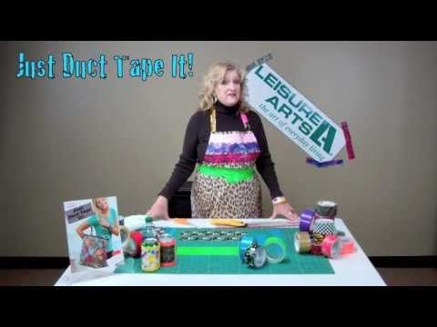 Learn to make Duct-Tape Coozies with our free video!