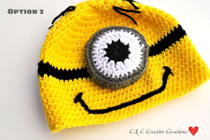 Minion Beanie by CCCreativeCreations on Etsy https://www.etsy.com/listing/161925526/minion-beanie