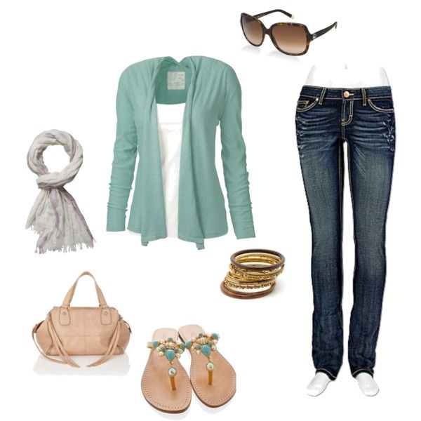 Minty early fall outfit happiness
