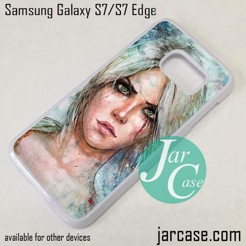 The Witcher Ciri Phone Case for Samsung Galaxy S7 & S7 Edge
