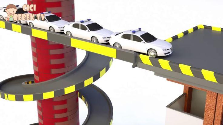 Oyuncak Arabalar ile Türkçe Renkleri Öğreniyorum - Çocuk Videosu