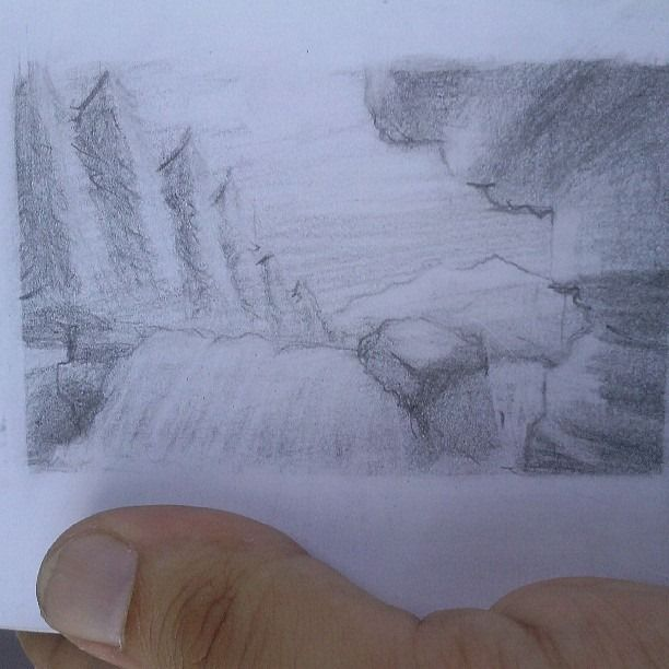 Thumbnail landscape from imagination.