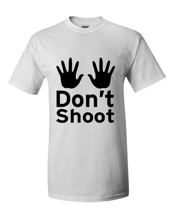 Black Lives Matter T-shirt Hands up dont shoot Black lives matter protesting…