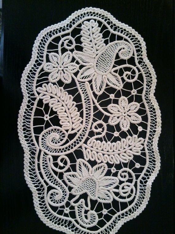 Romanian Point Lace Style Crochet