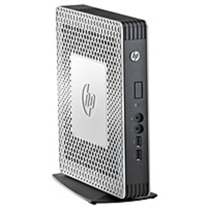 HP Flexible H1Y44AT t610 Thin Client - AMD G-T56N 1.65 GHz Dual-Core Processor - 2 GB. HP Flexible H1Y44AT t610 Thin Client - AMD G-T56N 1.65 GHz Dual-Core Processor - 2 GB DDR3 SDRAM - 2 GB Flash Memory - Windows Embedded Standard 2009HP Flexible H1Y44AT t610 Thin Client - AMD G-T56N 1.65 GHz Dual-Core Processor - 2 GB DDR3 SDRAM - 2 GB Flash Memory - Windows Embedded Standard 2009Condition : This item is Class A refurbished. This is the cleanest class of refurbished product you can buy…